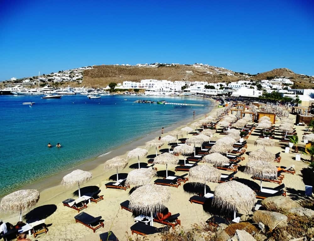 Platys Gialos - The best Mykonos beaches