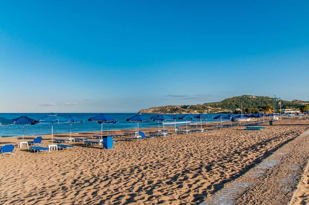 Faliraki Beach -The Best Rhodes Beaches