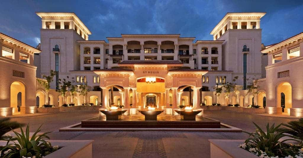 St Regis Saadiyat Island Resort Abu Dhabi-min -Where to Stay In Abu Dhabi the best hotels for every budget