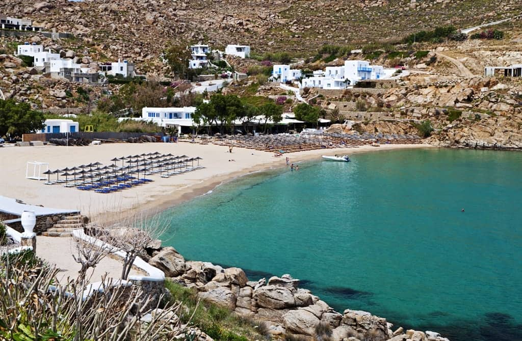 Super Paradise beach The best Mykonos beaches