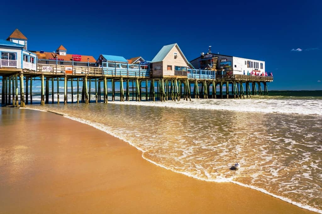 East Coast Beaches from Maine to South Carolina