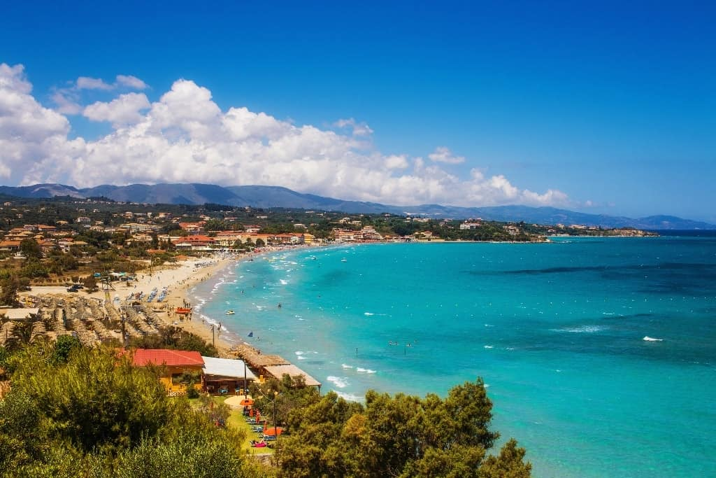 Tsilivi beach - The best Zante beaches