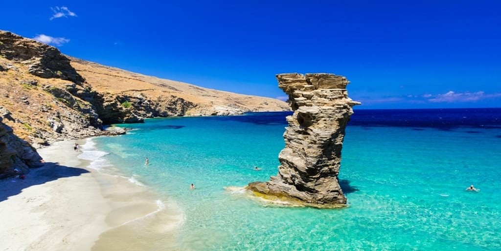 Andros island The best islands near Athens