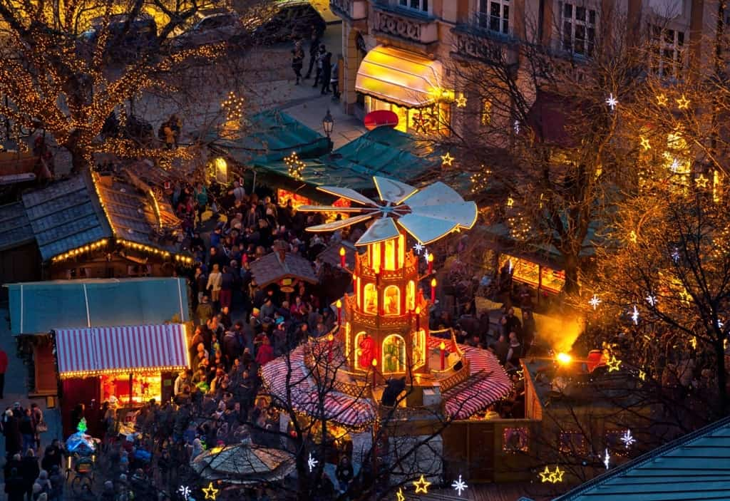 christmas carousel, Munich The best Christmas Markets in Germany