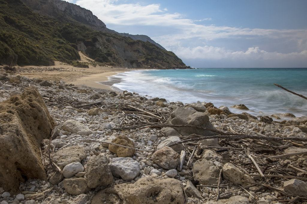 Koroni Beach best Kefalonia beaches