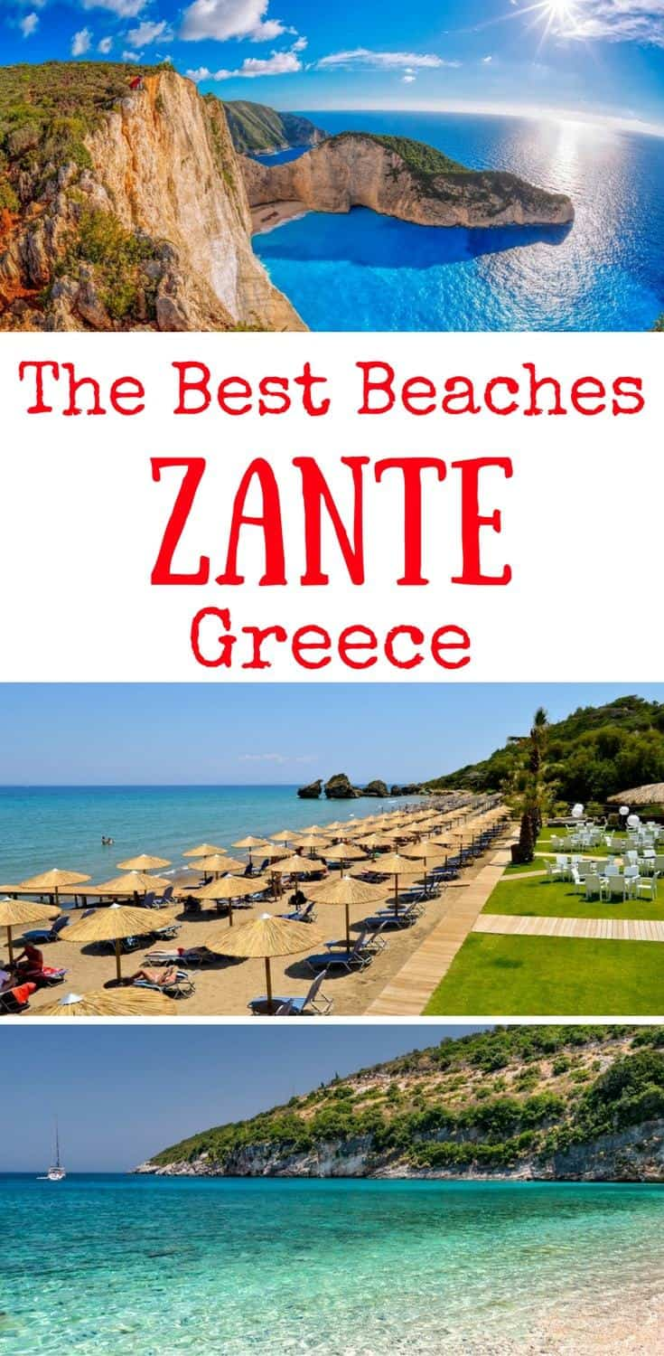 The best Zante beaches - the best beaches in Zakynthos Greece