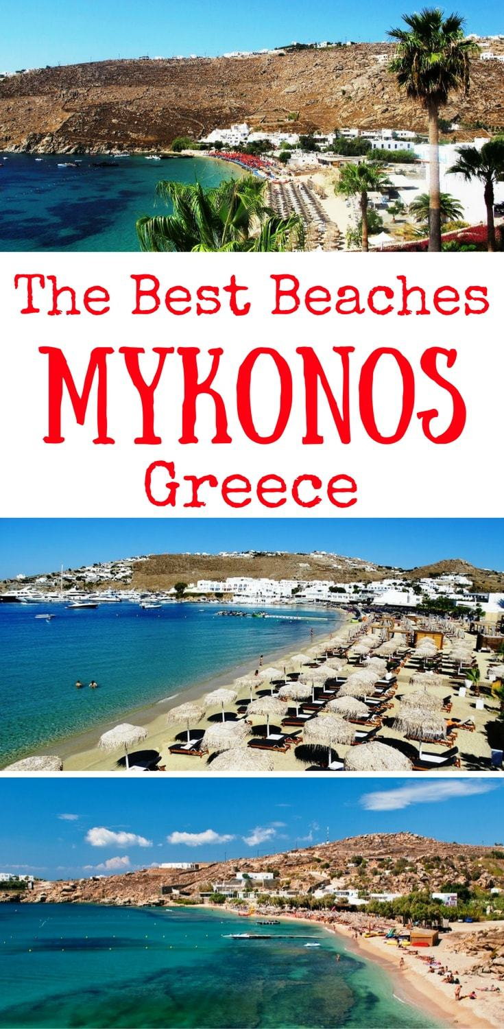 The best beaches in Mykonos - the best Mykonos beaches