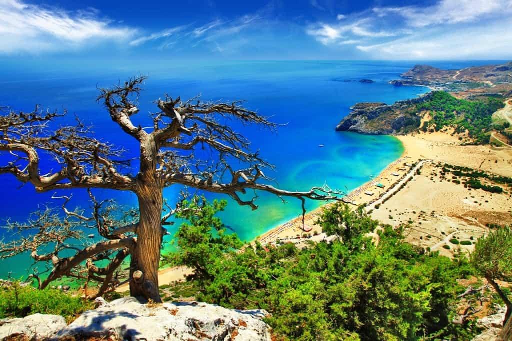 Tsambika Beach -The Best Rhodes Beaches