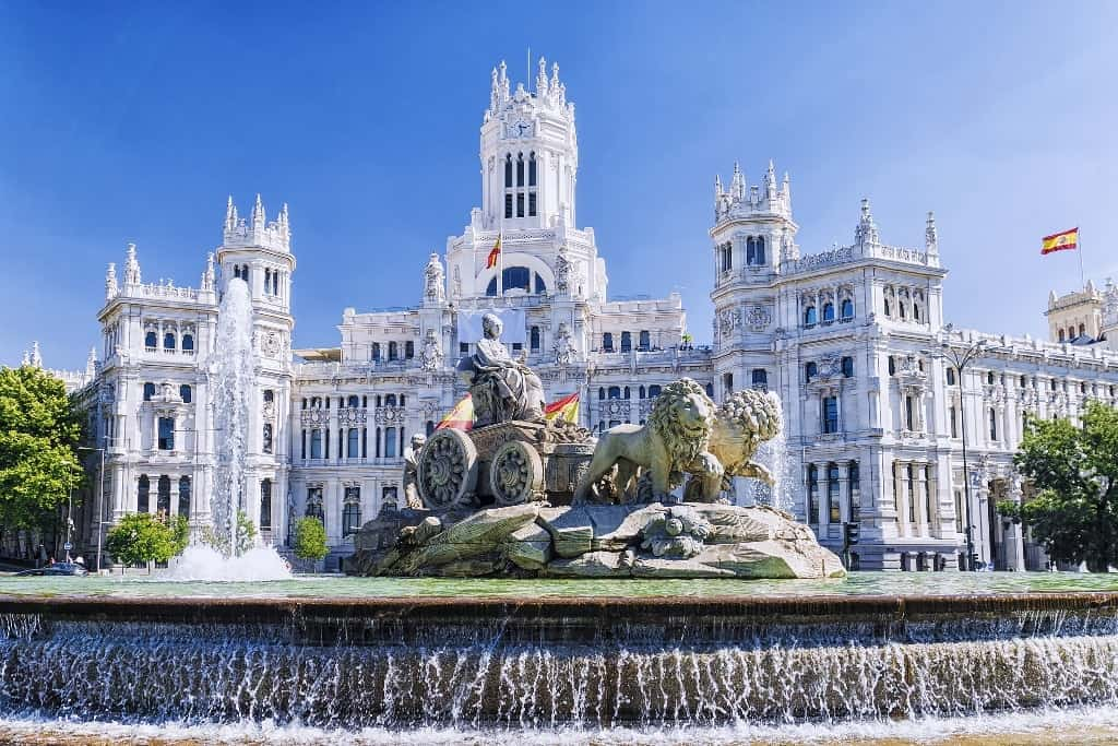 Cibeles fountain -3 days in Madrid what to do and see