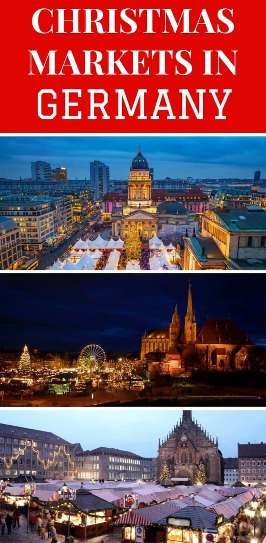 A guide to the 8 best Christmas Markets in Germany. Christmas markets in Berlin, Erfyrt, Munich, Dusseldorf , Stuttgart, Dresden