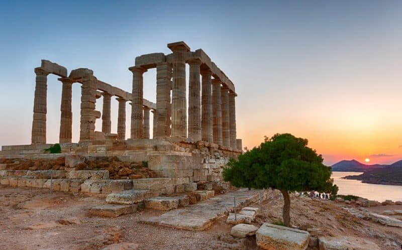 day trip from Athens - Temple of Poseidon in Sounio