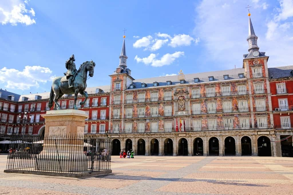 Plaza Mayor - 3 days in Madrid what to do and see