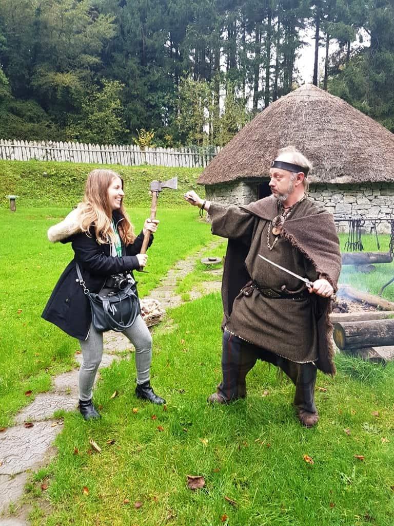 Craggaunowen Prehistoric Park- Things to do in Shannon, Ireland