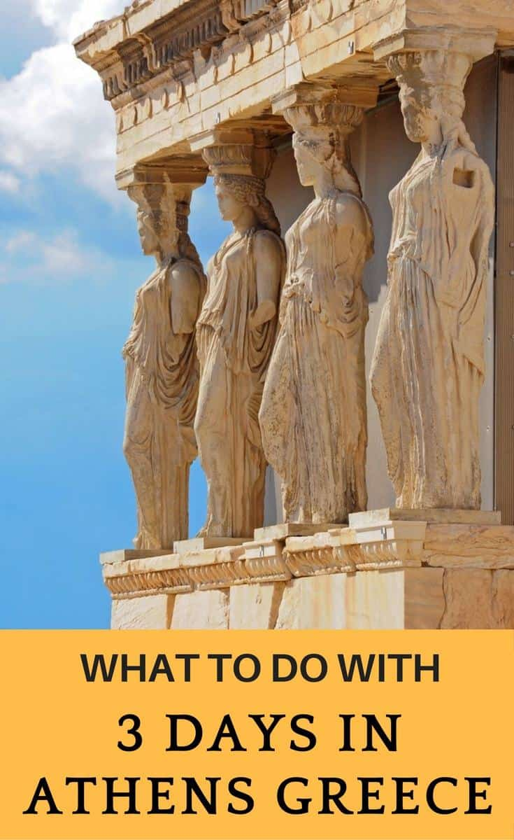 Planning a trip to Athens Greece? Here is a 3 day itinerary to Athens, Things to do in Athens in 3 days.