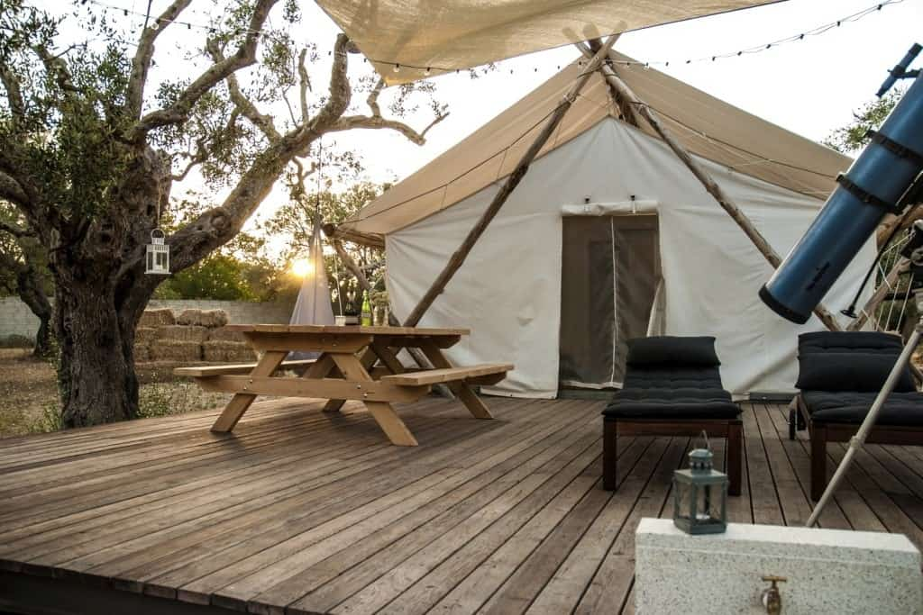Lizzanello- Glamping in Italy