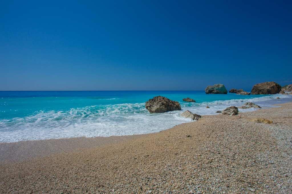 Kalamitsi beach Lefkada