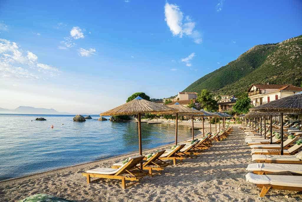 Nikiana beache Lefkada best beaches