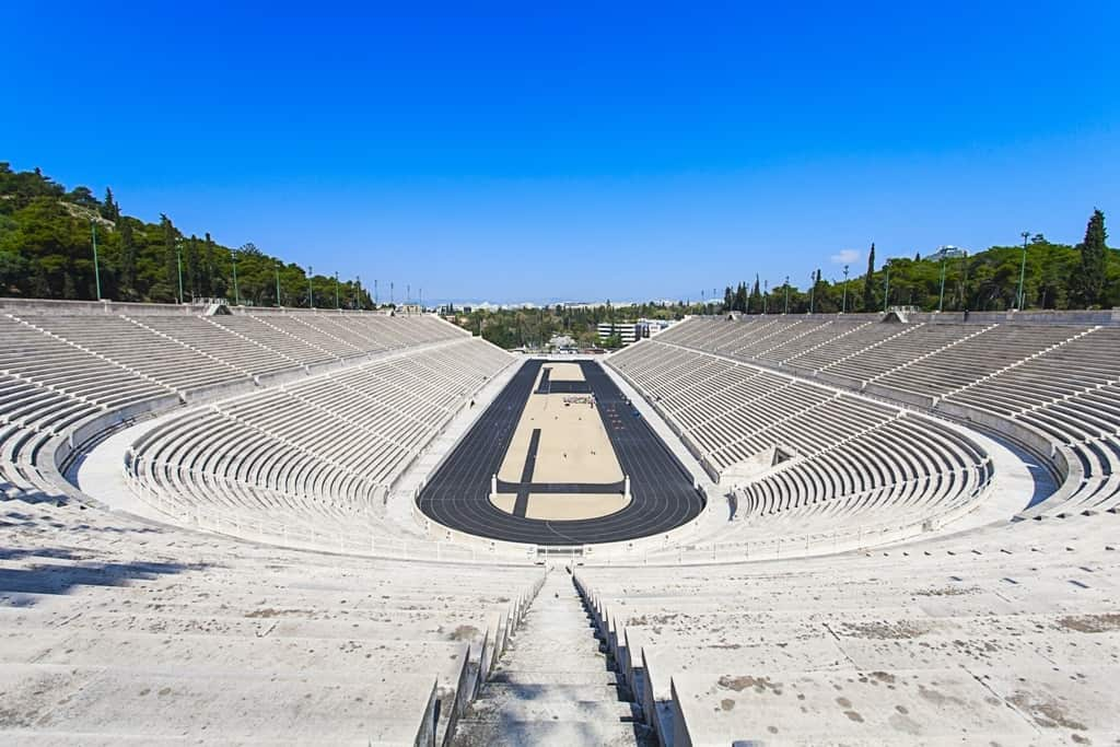 Panathenaic stadium - three days in Athens