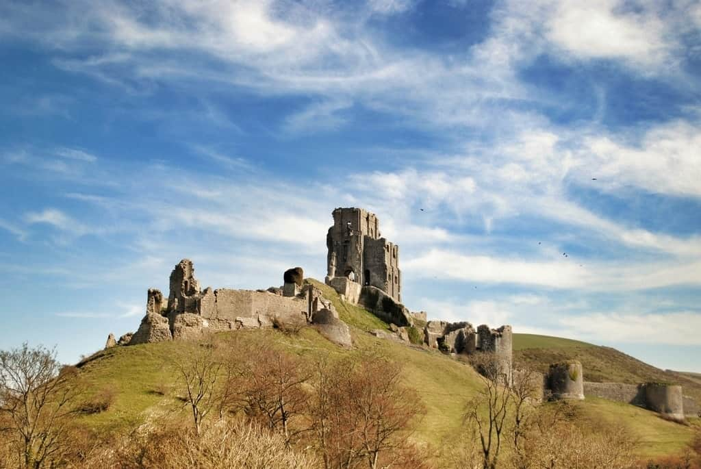 Corfe Castle - one day trip from London