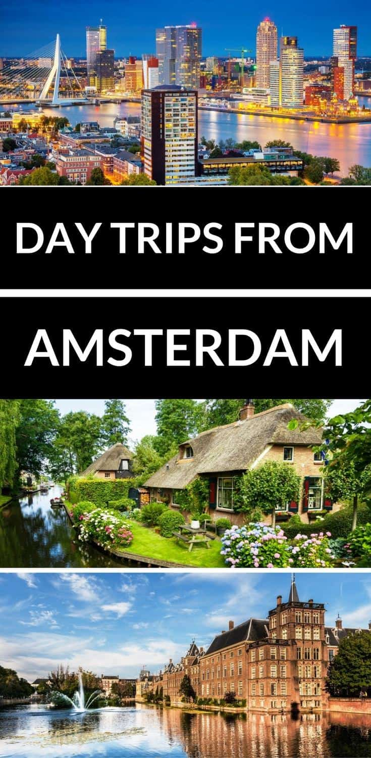 Looking for the perfect day trip from Amsterdam? Here are the best day trips from Amsterdam including Rotterdam, The Hague, Bruges and much more