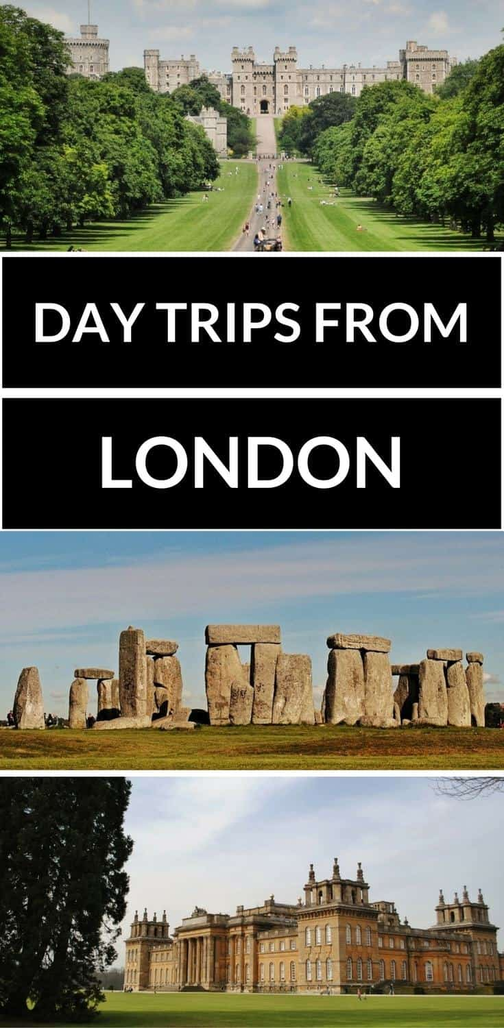 The best day trips from London, Day trip from London to Windsor, Oxford, Stonehedge and more