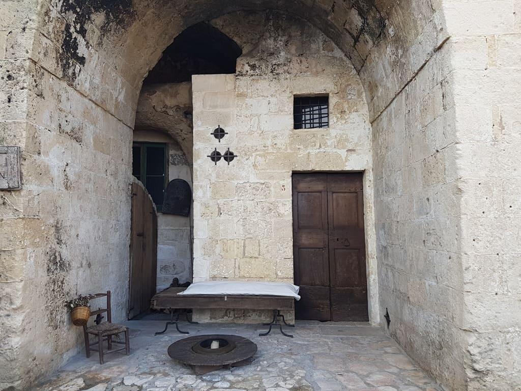 Le Grotte della Civita, in Matera, Italy
