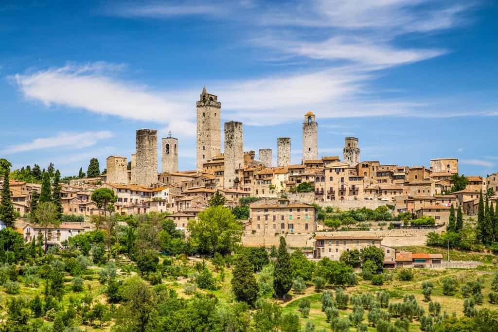 how to get from florence to san gimignano by bus and by. Black Bedroom Furniture Sets. Home Design Ideas