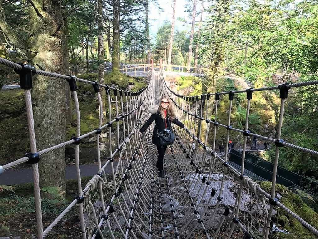 The Kells Bay Gardens - rope bridge -Ring of Kerry: The Dingle & Skellig Coast day trip from Killarney