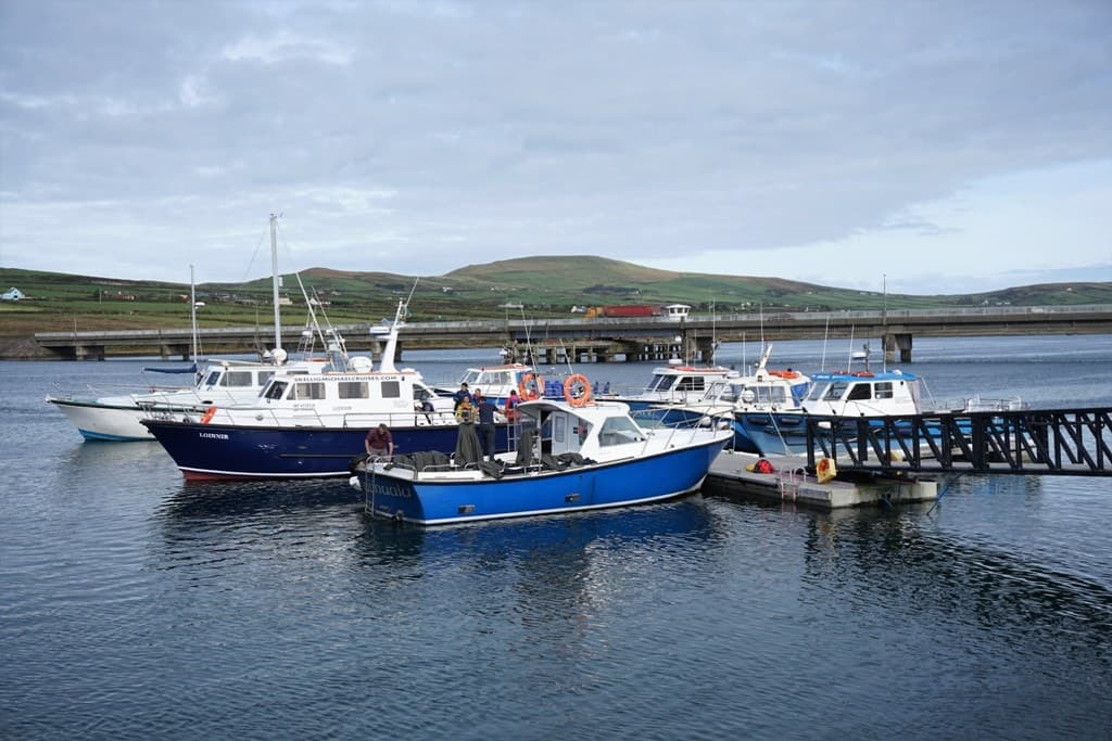 Village of Portmagee -Ring of Kerry: The Dingle & Skellig Coast day trip from Killarney