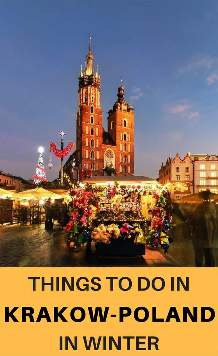 Planning a trip to Krakow in winter? Check out, the best things to do in Krakow in winter.