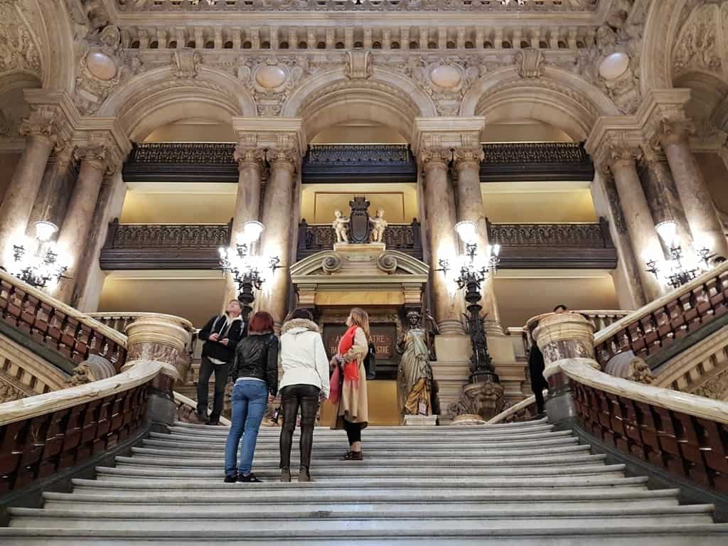 Opera Garnier Paris in 7 days itinerary