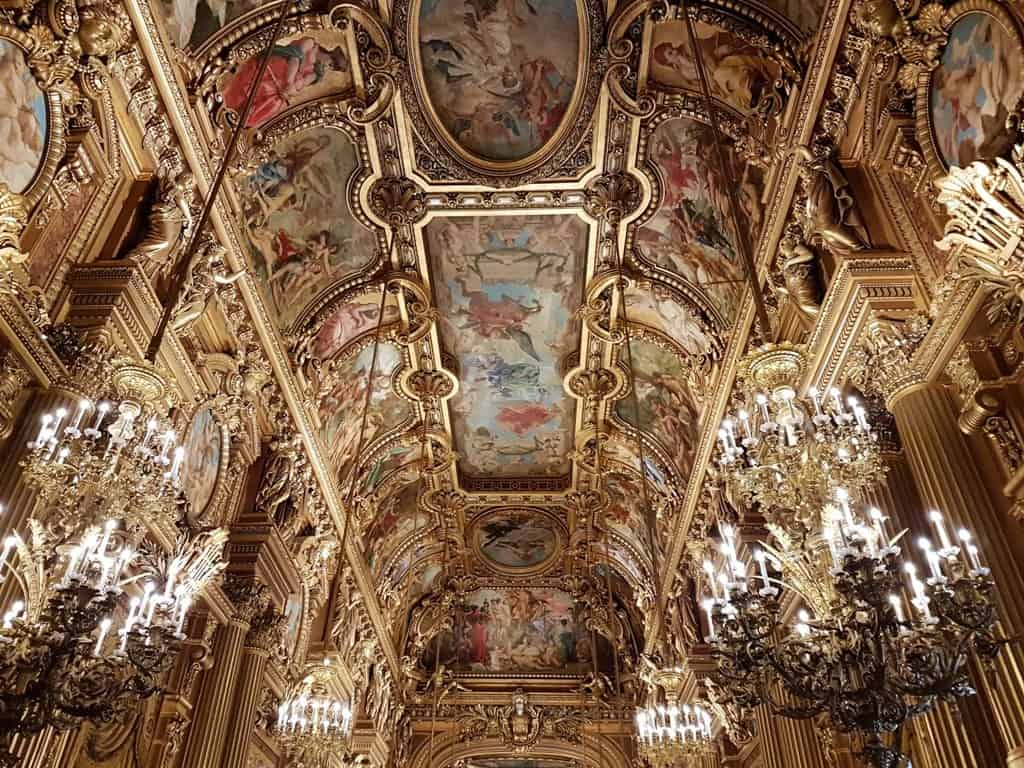 Opera Garnier - Paris in 7 days itinerary
