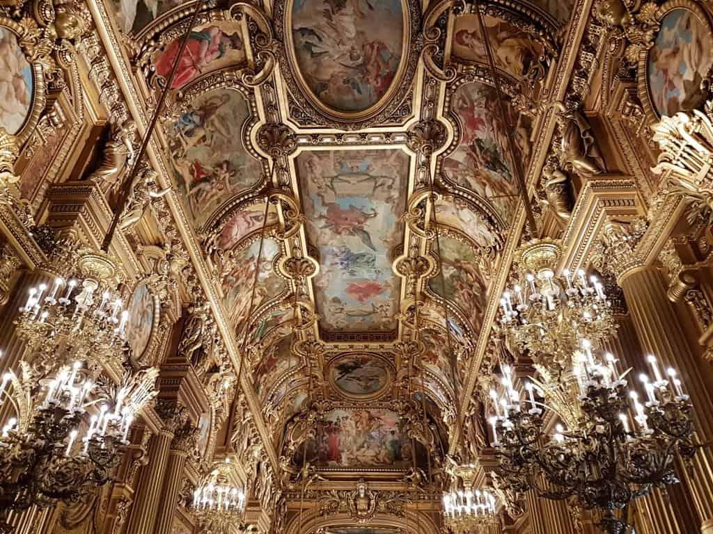 Opera Garnier - Paris in 7 days itinerary