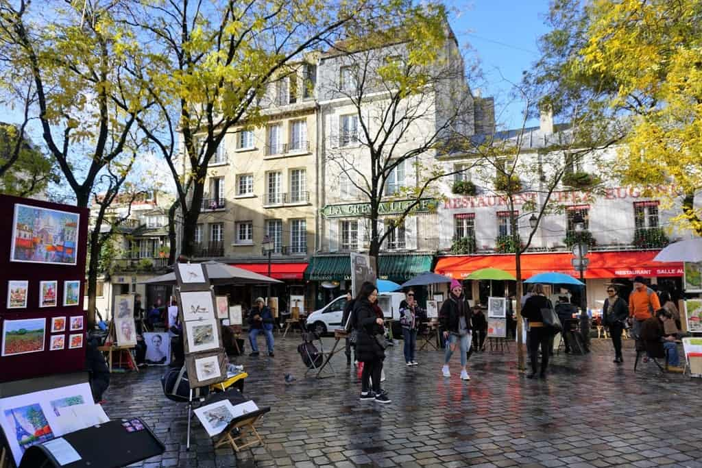 Montmartre Paris in 7 days itinerary