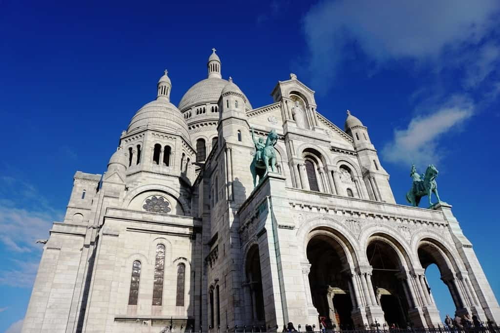 Sacre-Couer - Seven days in Paris itinerary