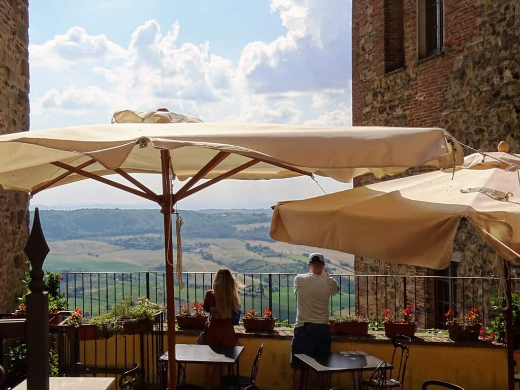 Montepulciano - hilltop villages and towns in Tuscany