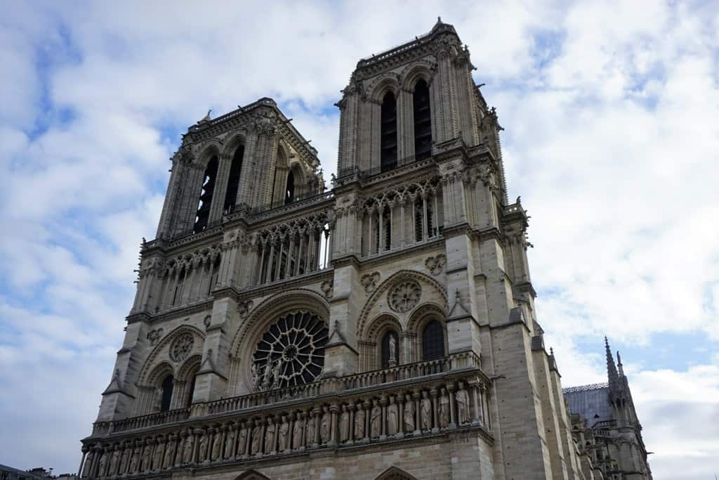 Notre Dame -Paris in 7 days itinerary