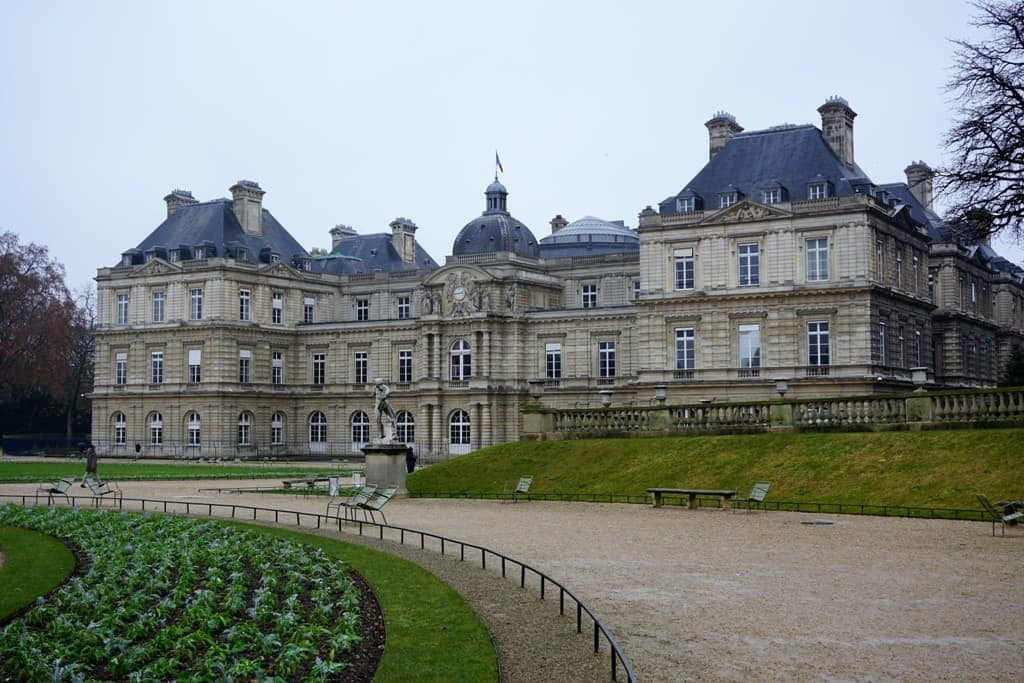 Jardin de Luxembourg Paris in 7 days itinerary
