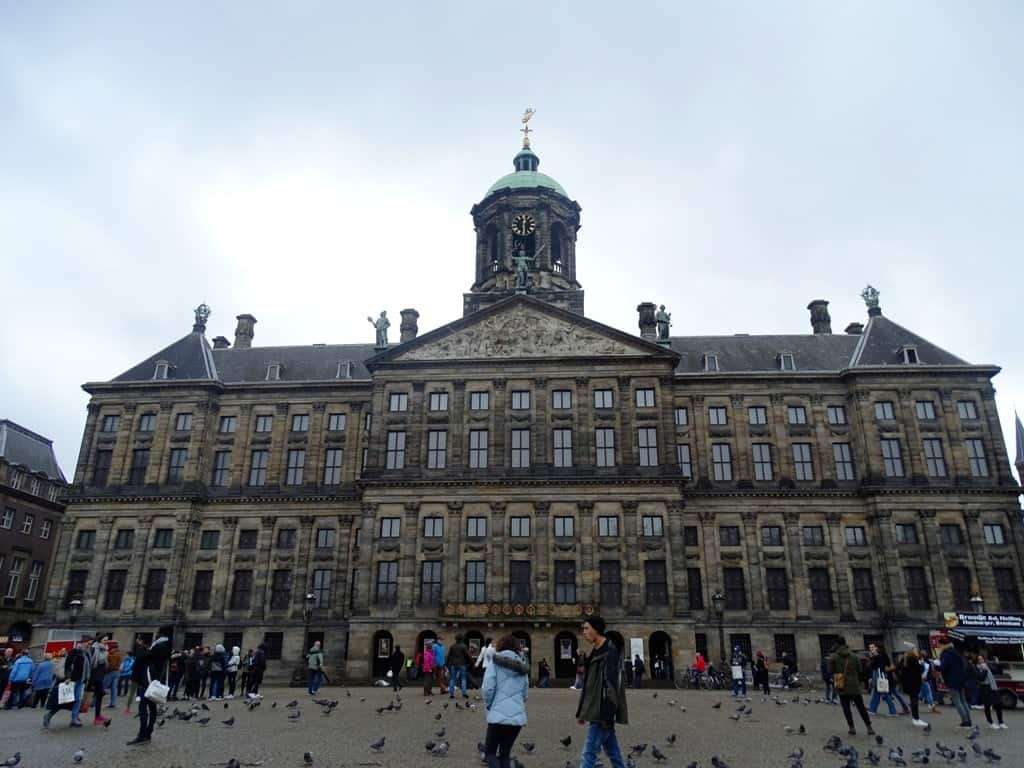 Royal Palace of Amsterdam -5 days in Amsterdam