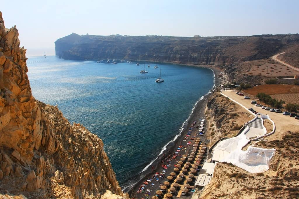 Mesa Pigadia Beach - The best Santorini Beaches