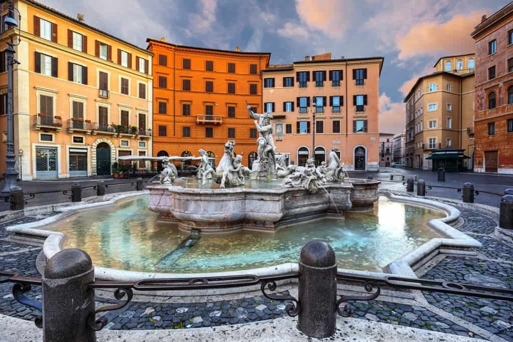 Piazza Navona - how to spend 5 days in Rome
