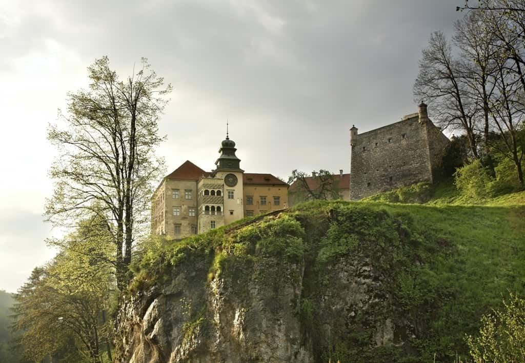 castle at Ojcow National Park. - the best day trips from Krakow