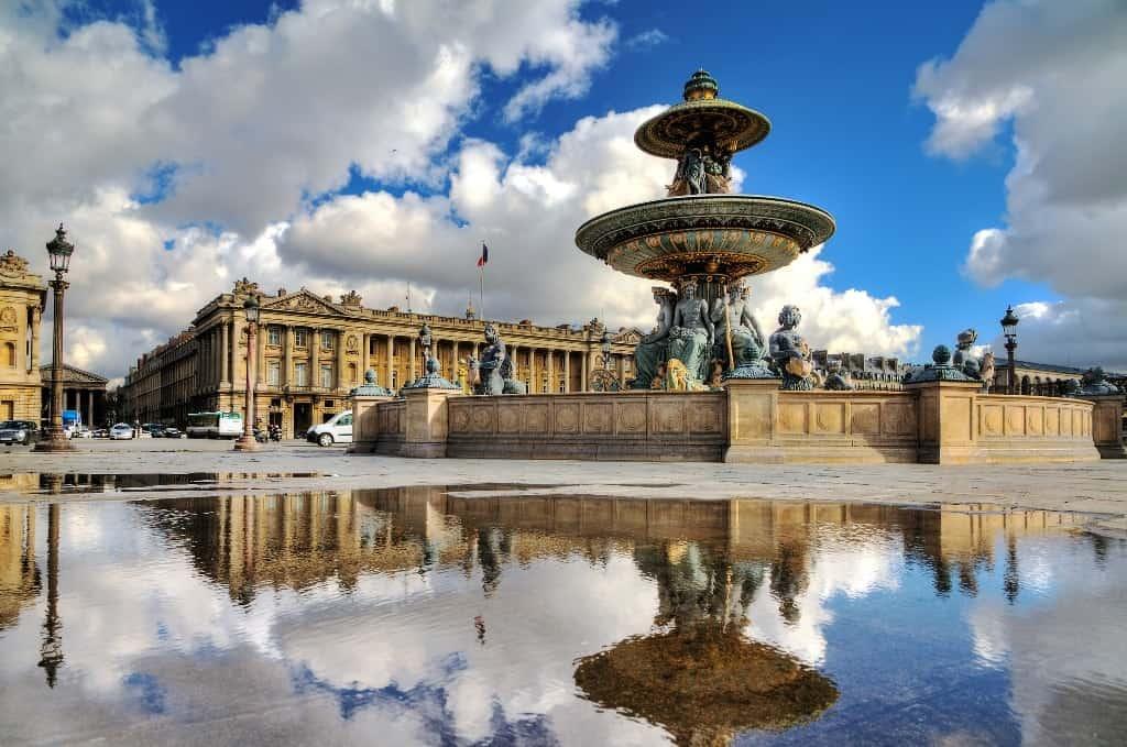Place de La Concorde- Paris in 7 days itinerary
