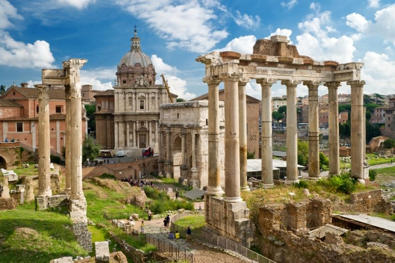 Roman Forum in Rome - 5 days in Rome