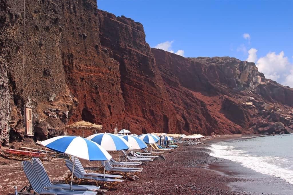 Red Beach - The best Santorini Beaches