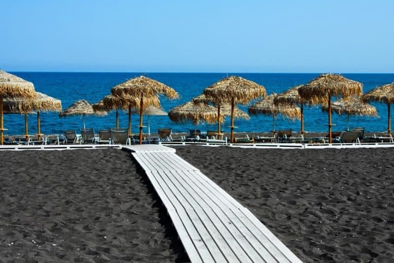 Perivolos Beach -The best Santorini Beaches