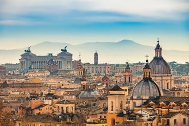 5 days in Rome - View of Rome from Castel Sant'Angelo