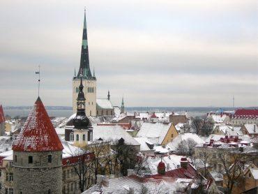 winter in Talliinn
