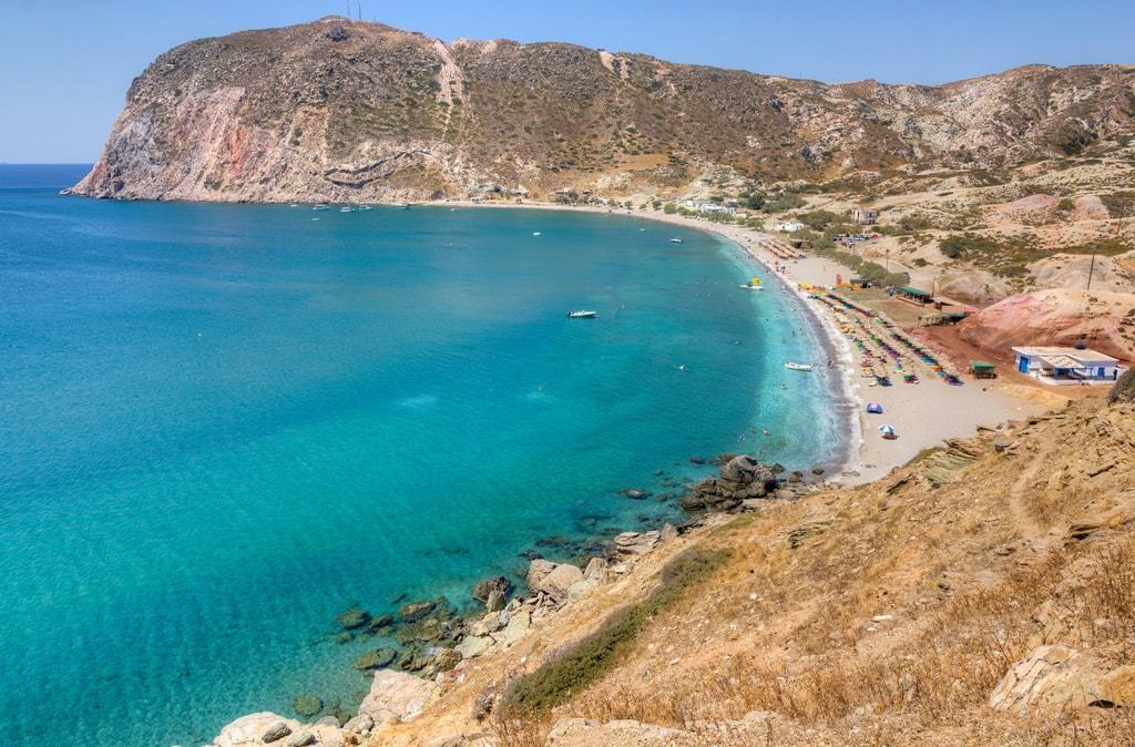Agia Kyriaki -The Best Milos Beaches