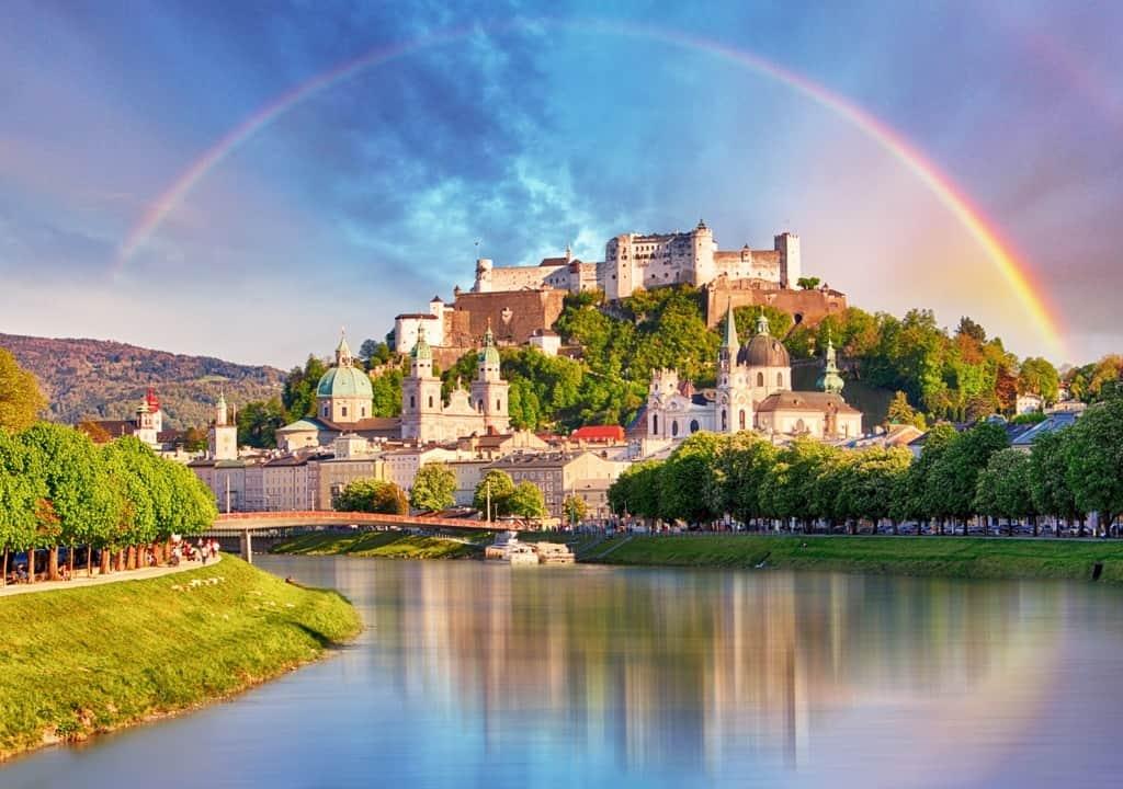 one day in Salzburg - Salzburg castle